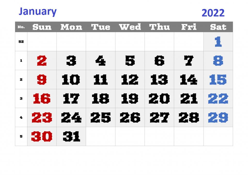 Coustomize-Jan-Calendar-2022