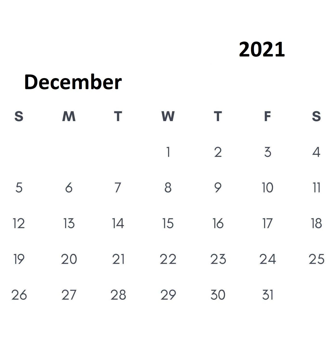 December-Calendar-2021-Template