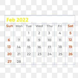 February-Calendar-2022-Template