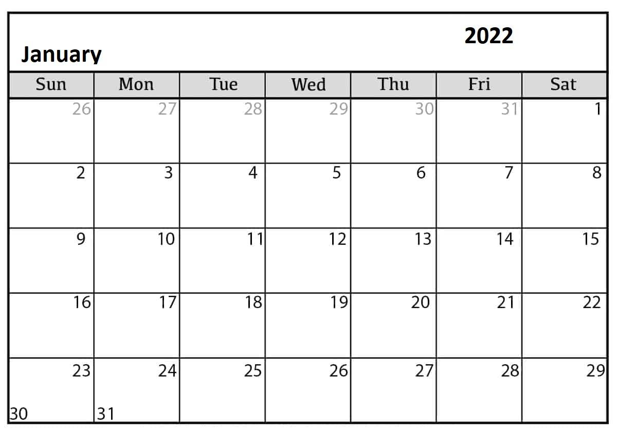 January-2022-Calendar-Template