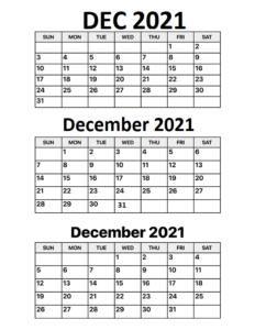 december-2021-calendar-Free