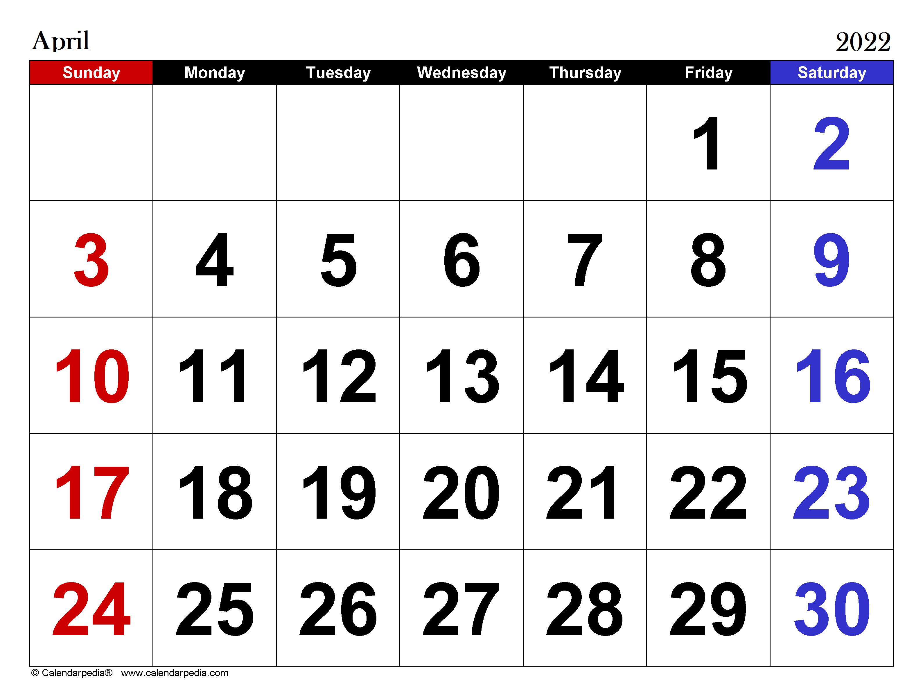 april-2022-calendar-for-summer-Vacation
